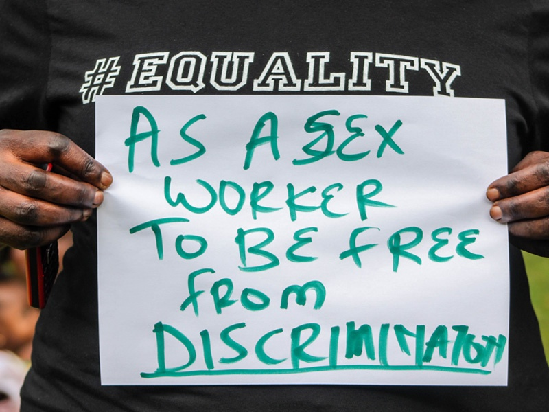As a Sex Worker to be Free from Discrimination