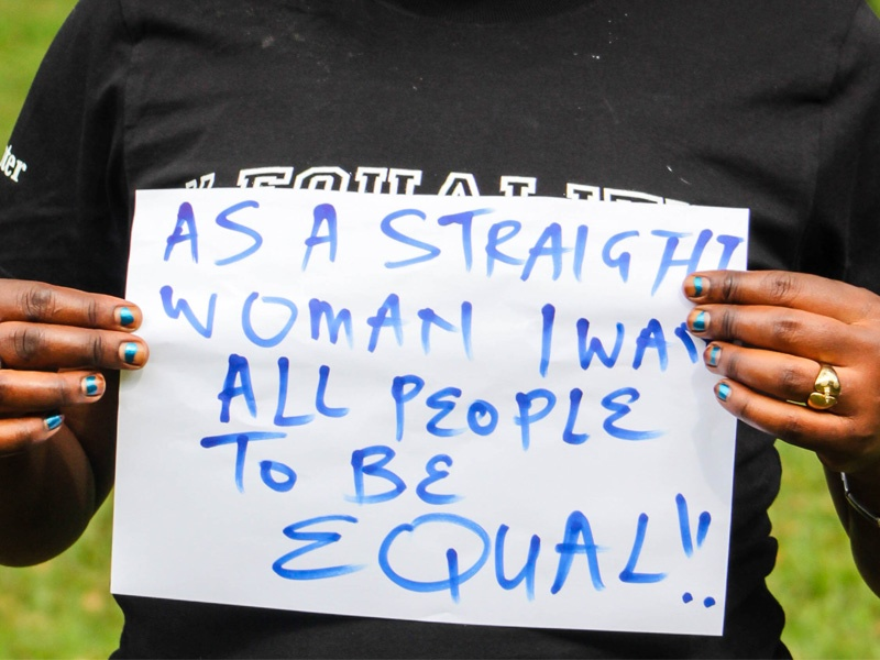 As a Straight Woman, I want All People to be Equal