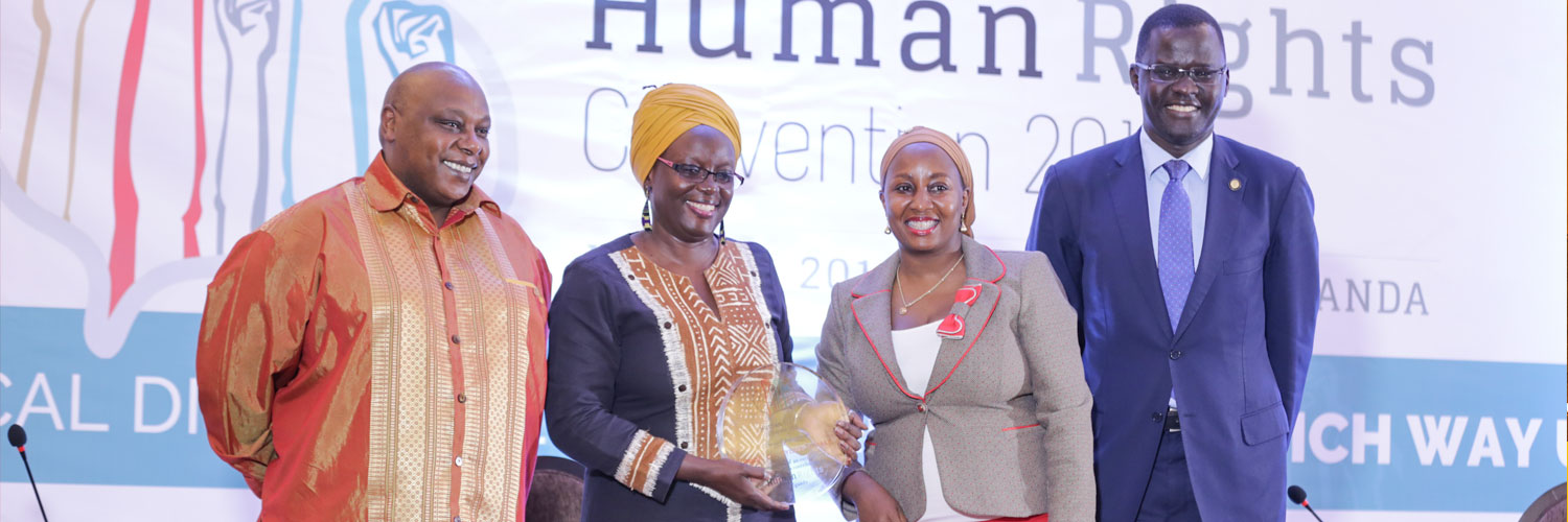 Human Rights Award, 2018 to Prof. Sylvia Tamale