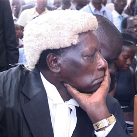 Former Judge Kanyeihamba Photo Source - thetruthuganda.org