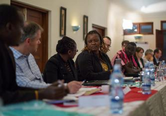 Day 1 of the workshop - Monica Tabengwa, Human Rights Watch