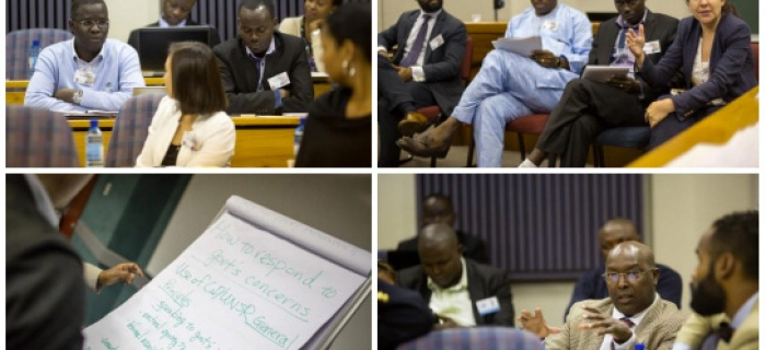 The African regional workshop on Protecting Civic Space November 17-18, 2014 University of Pretoria, South Africa