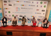 Panel of the main plenary session at the Convention. © Chapter Four Uganda