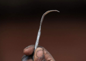 A tool that is used for FGM by some communities. ©Getty