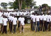 Pass out of crime preventers in Uganda