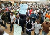 Liberty Protests in Kampala (Courtesy photo)
